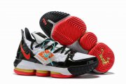 Wholesale Cheap Nike Lebron James 16 Air Cushion Shoes Superman White Black Red