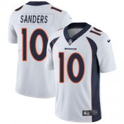 Wholesale Cheap Nike Broncos #10 Emmanuel Sanders White Youth Stitched NFL Vapor Untouchable Limited Jersey