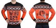 Wholesale Nike Bengals Men's Ugly Sweater
