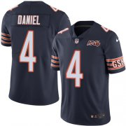 Wholesale Cheap Nike Bears #4 Chase Daniel Navy Blue Team Color Men's 100th Season Stitched NFL Vapor Untouchable Limited Jersey