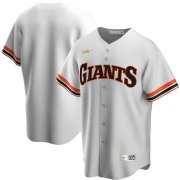 Wholesale Cheap San Francisco Giants Nike Home Cooperstown Collection Team MLB Jersey White