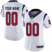 Wholesale Cheap Nike Houston Texans Customized White Stitched Vapor Untouchable Limited Women's NFL Jersey