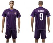 Wholesale Cheap Florence #9 Kalinic Home Soccer Club Jersey