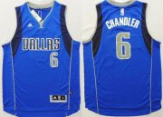 Wholesale Cheap Dallas Mavericks #6 Tyson Chandler Revolution 30 Swingman 2014 New Light Blue Jersey