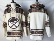 Wholesale Cheap Sabres Blank Cream Camo NHL Hoodie