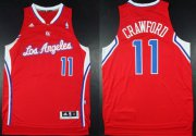 Wholesale Cheap Los Angeles Clippers #11 Jamal Crawford Revolution 30 Swingman Red Jersey