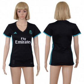 Wholesale Cheap Women\'s Real Madrid Blank Away Soccer Club Jersey