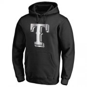 Wholesale Cheap Texas Rangers Platinum Collection Pullover Hoodie Black