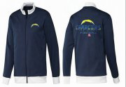 Wholesale Cheap NFL Los Angeles Chargers Victory Jacket Dark Blue