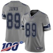 Wholesale Cheap Nike Cowboys #89 Blake Jarwin Gray Youth Stitched NFL Limited Inverted Legend 100th Season Jersey