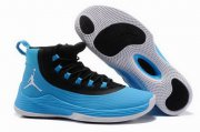 Wholesale Cheap Air Jordan Ultra.Fly 2 Shoes Black/Royal Blue-White