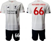 Wholesale Cheap Liverpool #66 Alexander-Arnold Away Soccer Club Jersey