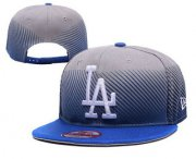 Wholesale Cheap MLB Los Angeles Dogers Snapback Ajustable Cap Hat 11