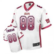 Wholesale Cheap Nike Giants #88 Evan Engram White Men's Stitched NFL Elite Drift Fashion Jersey