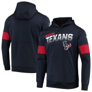 Wholesale Cheap Houston Texans Nike Sideline Team Logo Performance Pullover Hoodie Navy