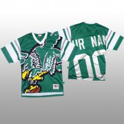 Wholesale Cheap NFL Philadelphia Eagles Custom Green Men's Mitchell & Nell Big Face Fashion Limited NFL Jersey