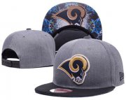 Wholesale Cheap NFL Los Angeles Rams Team Logo Snapback Adjustable Hat