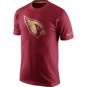 Wholesale Cheap Men\'s Nike Arizona Cardinals Championship Drive Gold Collection Performance T-Shirt