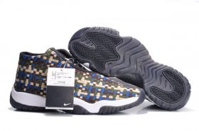 Wholesale Cheap Air Jordan Future Shoes Khaki/blue-white