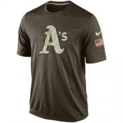 Wholesale Men's Oakland Athletics Salute To Service Nike Dri-FIT T-Shirt