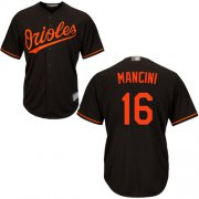 Wholesale Cheap Orioles #16 Trey Mancini Black New Cool Base Stitched MLB Jersey