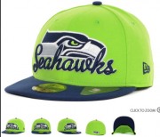 Wholesale Cheap Seattle Seahawks fitted hats 13