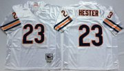 Wholesale Cheap Mitchell&Ness Bears #23 Devin Hester White Small No. Throwback Stitched NFL Jersey