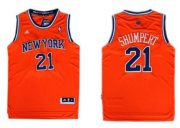Wholesale Cheap New York Knicks #21 Iman Shumpert Revolution 30 Swingman 2013 Orange Jersey