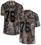 Wholesale Cheap Nike Seahawks #76 Duane Brown Camo Youth Stitched NFL Limited Rush Realtree Jersey
