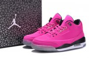 Wholesale Cheap Womens Jordan 3LAB5 GS Shoes Pink/black-white