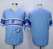 Wholesale Cheap Blue Jays Blank Light Blue Exclusive New Cool Base Stitched MLB Jersey