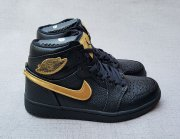 Wholesale Cheap Air Jordan 1 High BHM Black/Metallic Gold