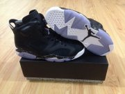 Wholesale Cheap Womens Jordan 6 GS Retro Oreo Shoes Black/white