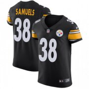 Wholesale Cheap Nike Steelers #38 Jaylen Samuels Black Team Color Men's Stitched NFL Vapor Untouchable Elite Jersey