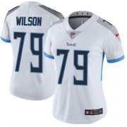 Wholesale Cheap Nike Titans #79 Isaiah Wilson White Women's Stitched NFL Vapor Untouchable Limited Jersey