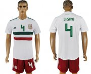 Wholesale Cheap Mexico #4 Castro Away Soccer Country Jersey