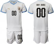 Wholesale Cheap Uruguay Personalized Away Soccer Country Jersey