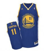 Wholesale Cheap Golden State Warriors #11 Klay Thompson Blue Swingman Jersey