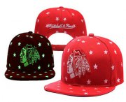 Wholesale Cheap Chicago Blackhawks Snapback Ajustable Cap Hat YD 7