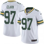 Wholesale Cheap Nike Packers #97 Kenny Clark White Youth Stitched NFL Vapor Untouchable Limited Jersey