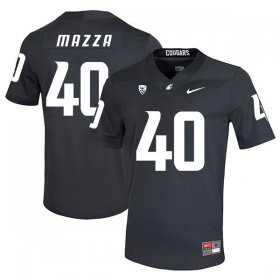Wholesale Cheap Washington State Cougars 40 Blake Mazza Black College Football Jersey