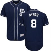Wholesale Cheap Padres #8 Erick Aybar Navy Blue Flexbase Authentic Collection Stitched MLB Jersey