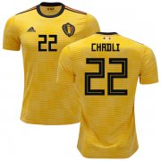 Wholesale Cheap Belgium #22 Chadli Away Kid Soccer Country Jersey