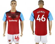 Wholesale Cheap West Ham United #46 Howes Home Soccer Club Jersey