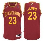 Wholesale Cheap Cleveland Cavaliers #23 LeBron James Red Swingman Jersey