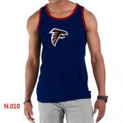 Wholesale Cheap Men's Nike NFL Atlanta Falcons Sideline Legend Authentic Logo Tank Top Dark Blue