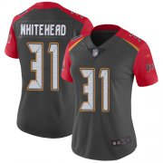 Wholesale Cheap Nike Buccaneers #31 Jordan Whitehead Gray Women's Stitched NFL Limited Inverted Legend Jersey