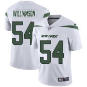 Wholesale Cheap Nike Jets #54 Avery Williamson White Youth Stitched NFL Vapor Untouchable Limited Jersey