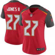 Wholesale Cheap Nike Buccaneers #27 Ronald Jones II Red Team Color Women's Stitched NFL Vapor Untouchable Limited Jersey