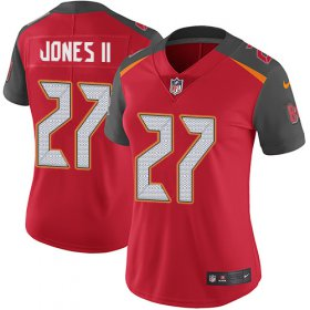 Wholesale Cheap Nike Buccaneers #27 Ronald Jones II Red Team Color Women\'s Stitched NFL Vapor Untouchable Limited Jersey